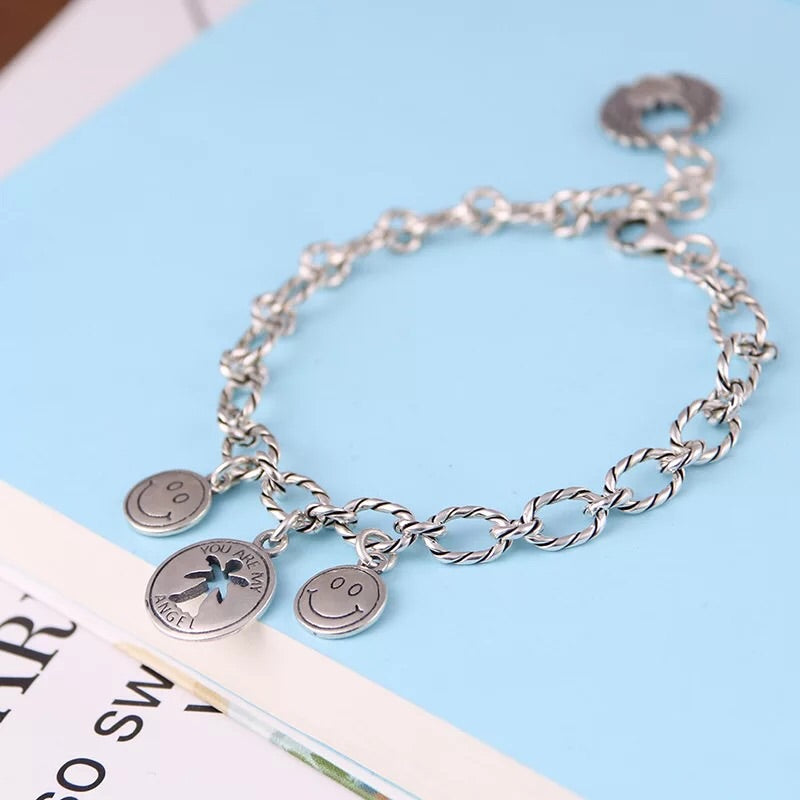 silver charm you are my angel bracelet - Xingjewelry