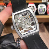 Franck muller transperant automatic watch