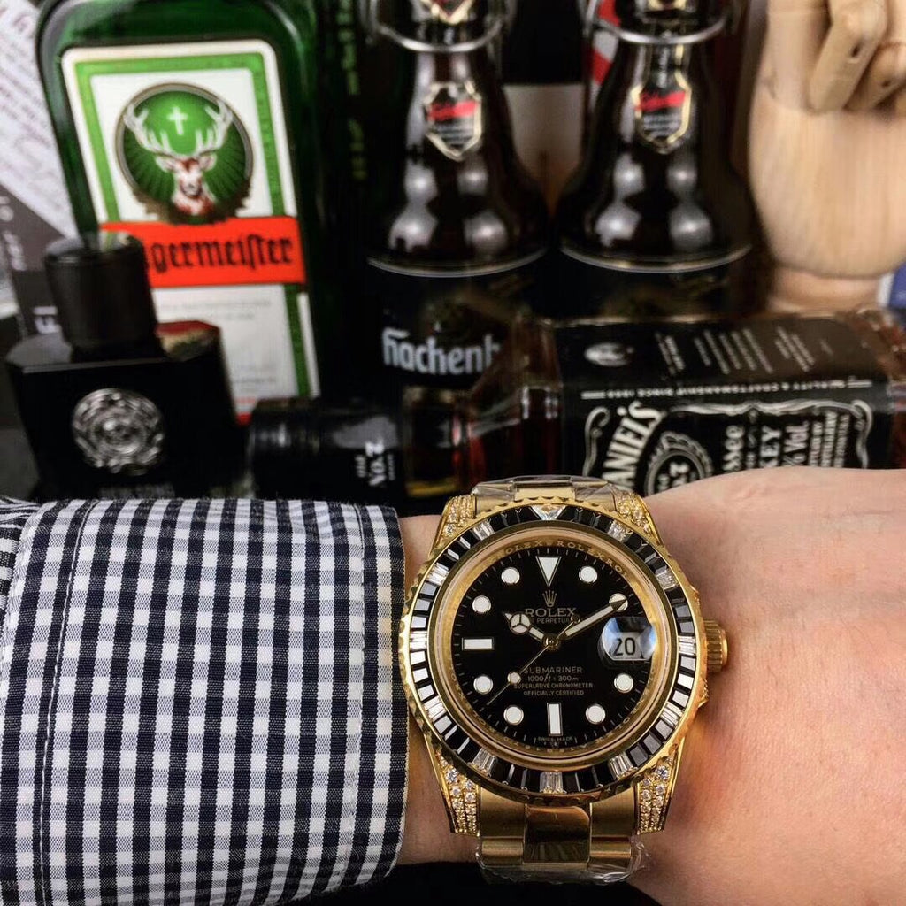 Rolex automatic water ghost man watch