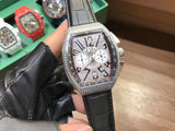 Frank muller Geneva master of complications diamond set  quartz watch
