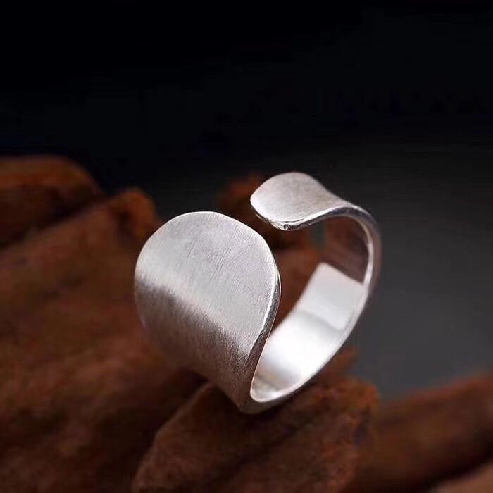 925 sterling silver simple ring
