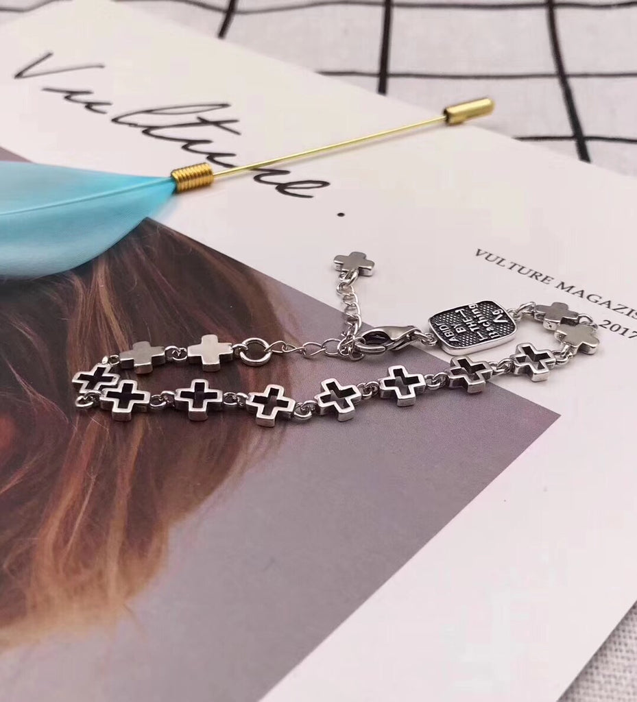 925 sterling silver king baby charm bracelet - Xingjewelry