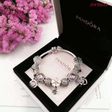 pandora bracelet with charms - Xingjewelry