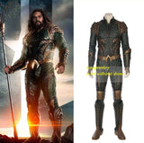 Marvel DC Character Aquaman Movie Costume Cosplay Clothes