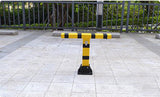 T SHAPE MANUAL CAR PARKING LOCK BARRIER SAFETY BOLLARD PARKING SPACE LOCK