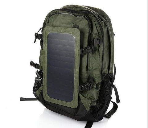 backpack with solar power charger camping bag hiking backpack outdoor backpack - Xingjewelry