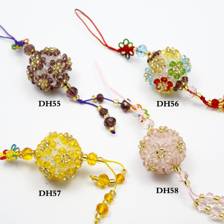 crystal flower pendant for sweater necklace
