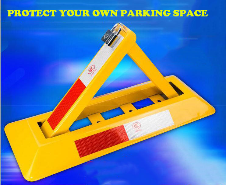 TRIANGLE MANUAL CAR PARKING LOCK BARRIER SECURITY BOLLARD SAFETY BARRIER