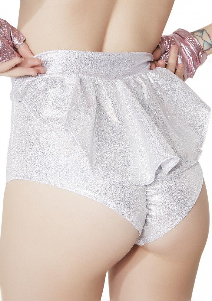 Sugarpuss Hologram Highwaist Flutter Bottoms