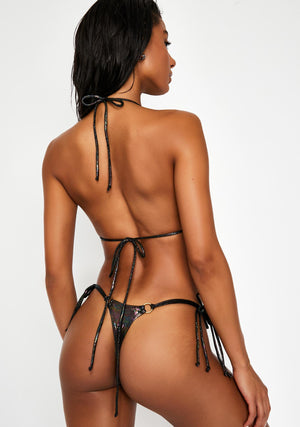 Oil Slick String Bikini