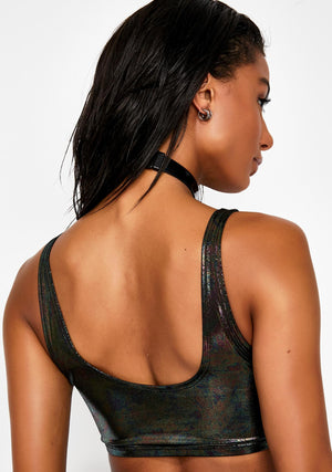 Oil Slick Mini Swim Tank