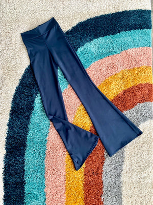 Highwaist Bell Bottoms in Navy