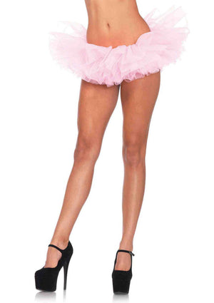 Pink Ballerina Doll Costume Set in Neon Pink