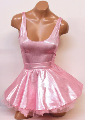 Pink Ballerina Doll Costume Set in Baby Pink