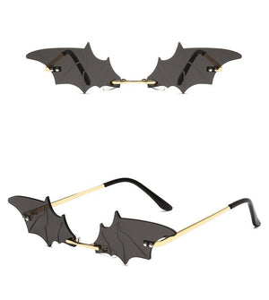 Bat Glasses in Black