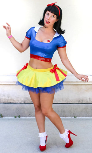 Cottage Princess Pin-Up Costume Set w Skirt