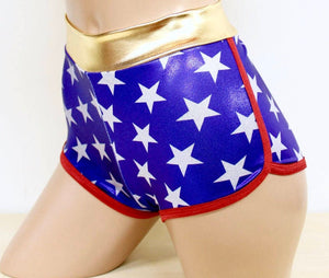 Star Superheroine Jogger Shorts