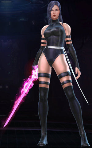 Telekinetic Assassin Costume Set in Black