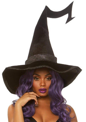 Black Velvet Witch Hat