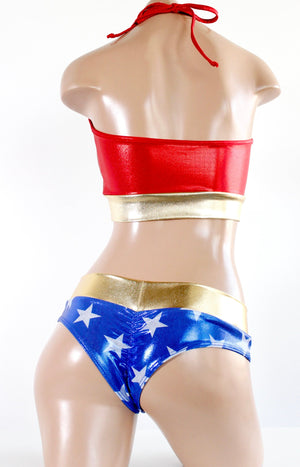 Star Superheroine Low Rise Cheeky Bottoms
