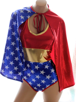 Star Superheroine Cape