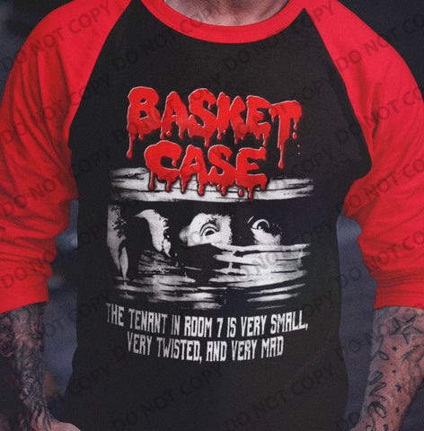 Basket Case - Classic Raglan Shirt - Blood Moon Shirts
