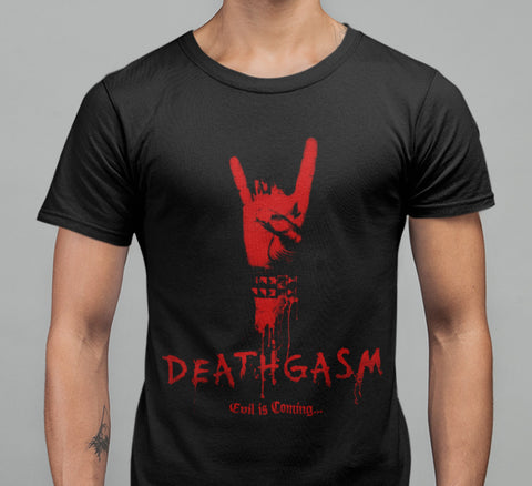 Deathgasm T-shirt-Blood Moon Shirts