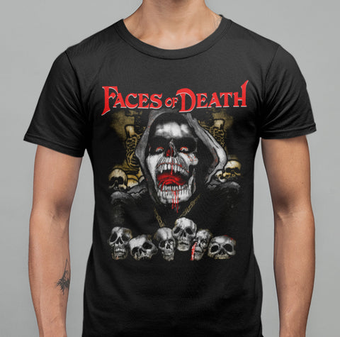 Faces Of Death - Exclusive T-Shirt-Blood Moon Shirts