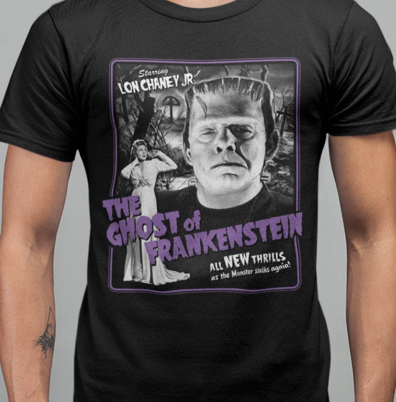 Ghost Of Frankenstein - T-shirt-Blood Moon Shirts