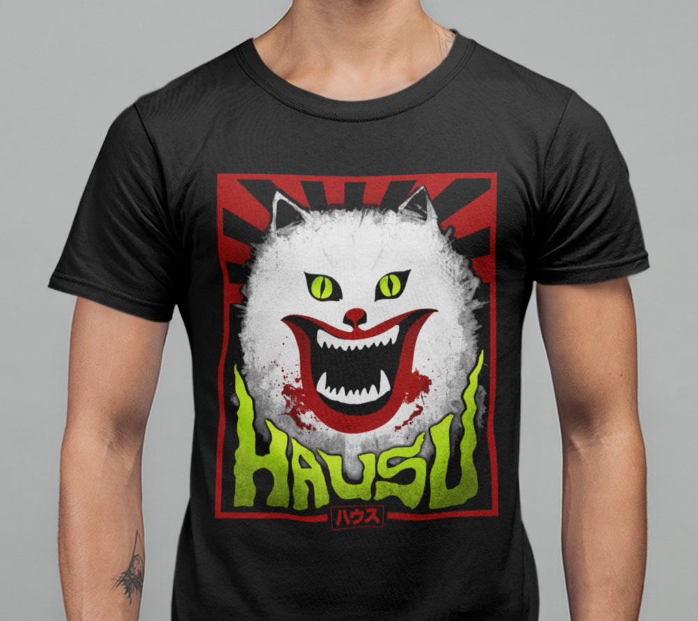 Hausu T-shirt-Blood Moon Shirts