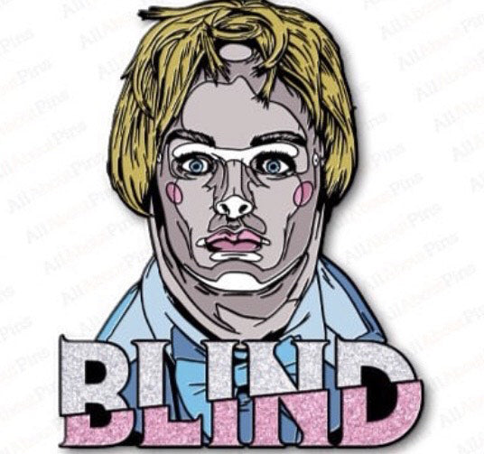 Blind Movie Pretty Boy Pin-Blood Moon Shirts