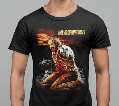 Anthropophagous T-shirt-Blood Moon Shirts