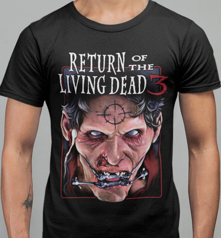Return of The Living Dead 3 - Don't Bite T-shirt-Blood Moon Shirts