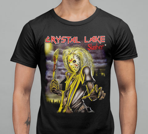 Crystal Lake - Slasher T-shirt-Blood Moon Shirts