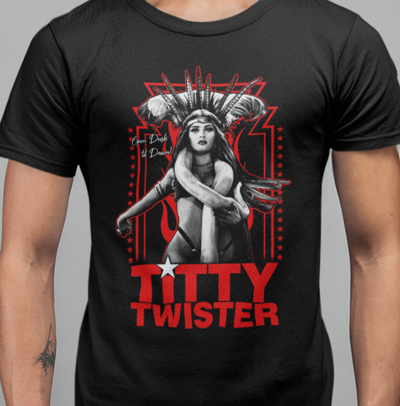 Titty Twister T-Shirt - Blood Moon Shirts