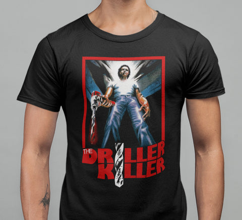 Driller Killer T-shirt-Blood Moon Shirts