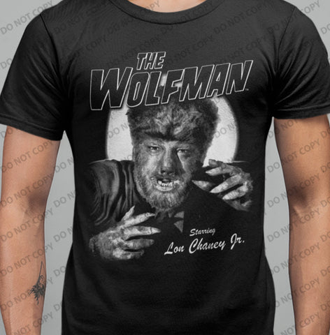 The Wolfman - T-shirt-Blood Moon Shirts