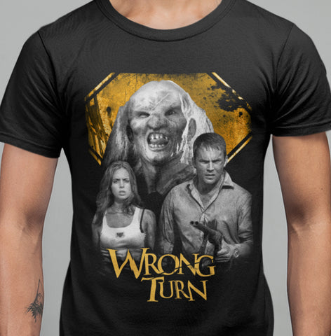 Wrong Turn T-shirt-Blood Moon Shirts