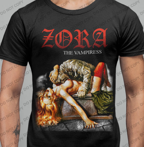 Zora - The Vampiress T-shirt-Blood Moon Shirts