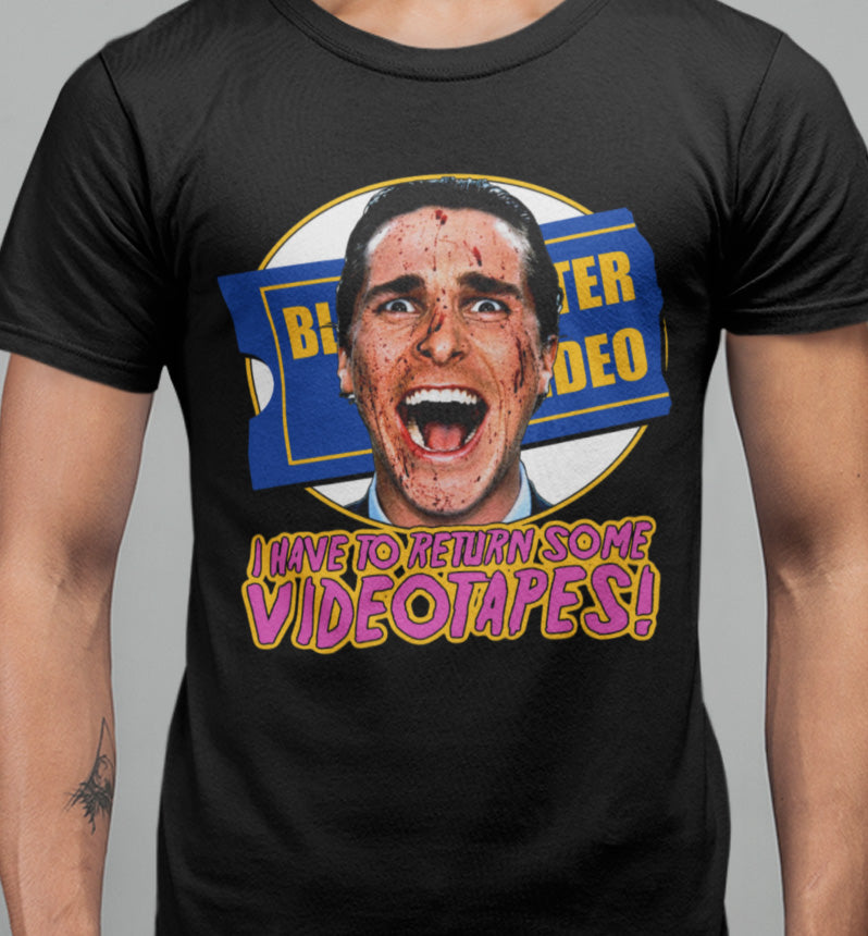 Time to return some videotapes T-shirt-Blood Moon Shirts