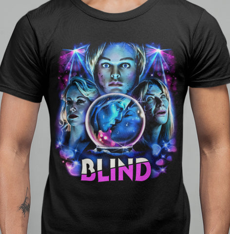 Blind T-shirt-Blood Moon Shirts