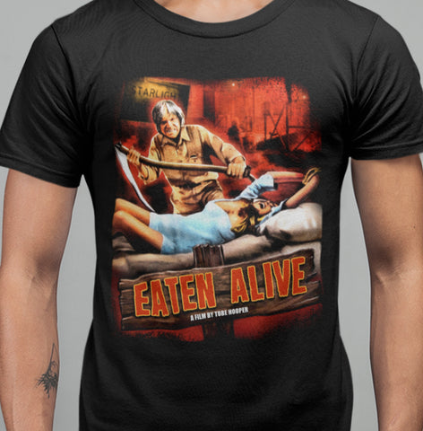 Eaten Alive (1976) T-shirt-Blood Moon Shirts