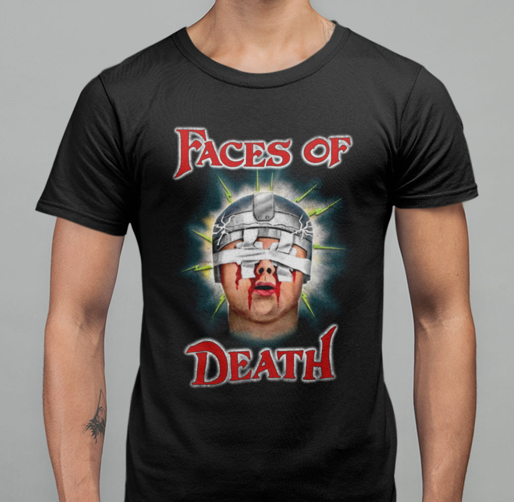 Faces Of Death - Blinded T-Shirt Double Sided-Blood Moon Shirts