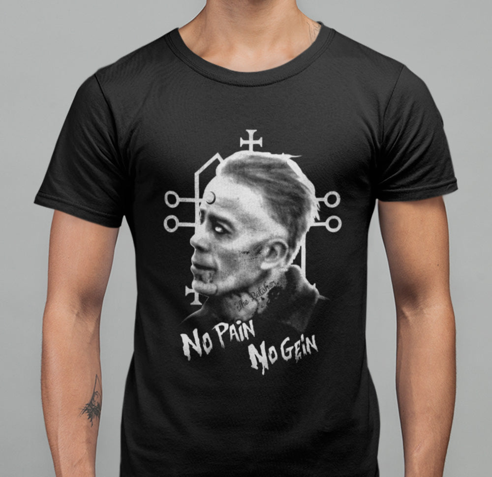 No Pain No Gein T-shirt-Blood Moon Shirts