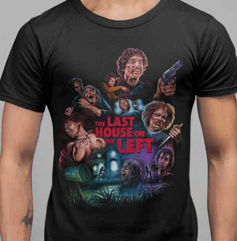 Last House on The Left - Exclusive T-shirt-Blood Moon Shirts
