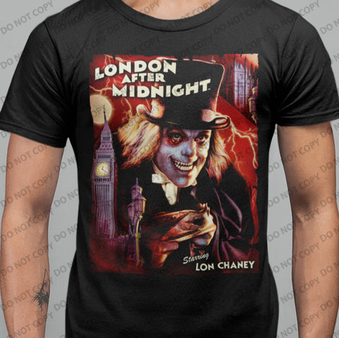 London After Midnight T-shirt-Blood Moon Shirts