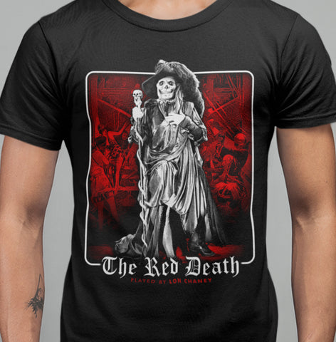 Masque of The Red Death - T-shirt-Blood Moon Shirts
