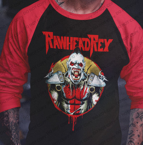 Rawhead Rex Raglan Shirt-Blood Moon Shirts
