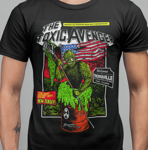 Toxic Avenger - Toxic Mops T-Shirt-Blood Moon Shirts