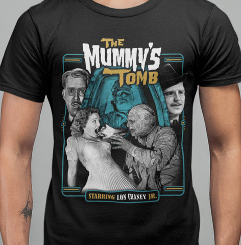 The Mummys Tomb - T-shirt-Blood Moon Shirts